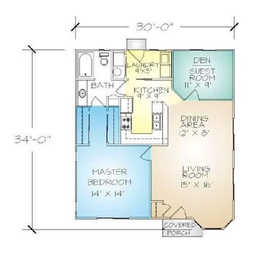 North Coast Packaged Homes House Plans Tiny House Plans Floor Plans