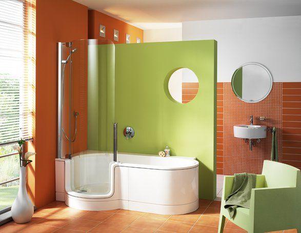 Badewanne mit dusche | bad | Pinterest | Badewanne mit dusche ...