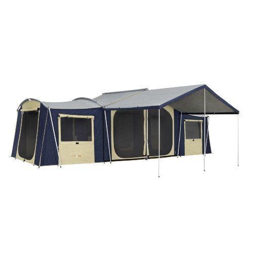 OZtrail Chateau 12 Canvas Cabin Tent  sc 1 st  Pinterest & OZtrail Chateau 12 Canvas Cabin Tent | Preparedness | Pinterest ...