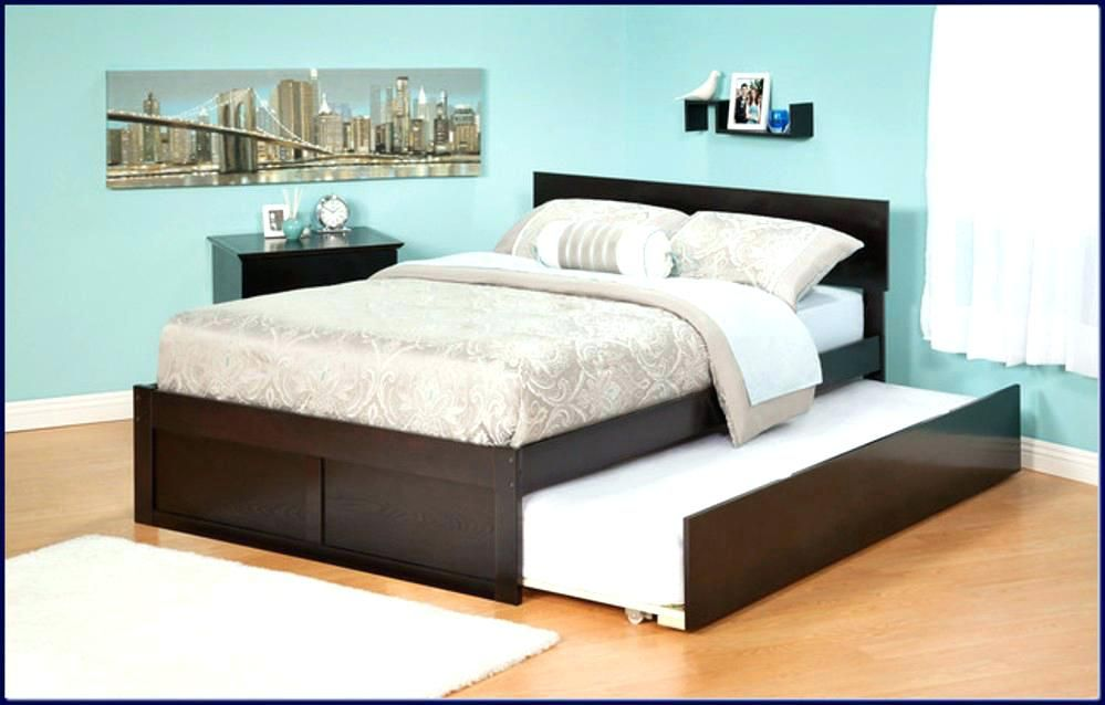 Roll Out Bed Surprising Full Size Trundle Frame Queen Bed Of