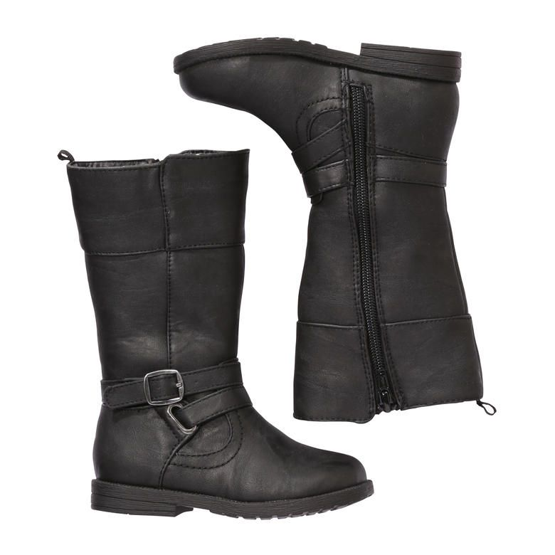 Toddler Girls' Tall Boots in Black from Joe Fresh | Girls ...