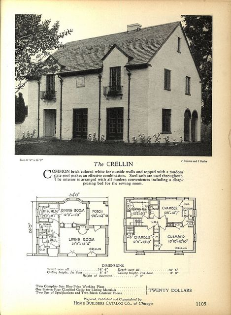1800s Country Homes: 1928 Home Builders Catalog In 2019