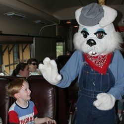 Easter Bunny Express - NC Transportation Museum www.NCTrans.org