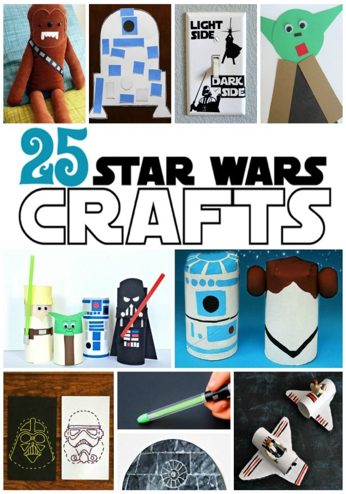 25 Out Of This World Star Wars Crafts For Kids Manualidades