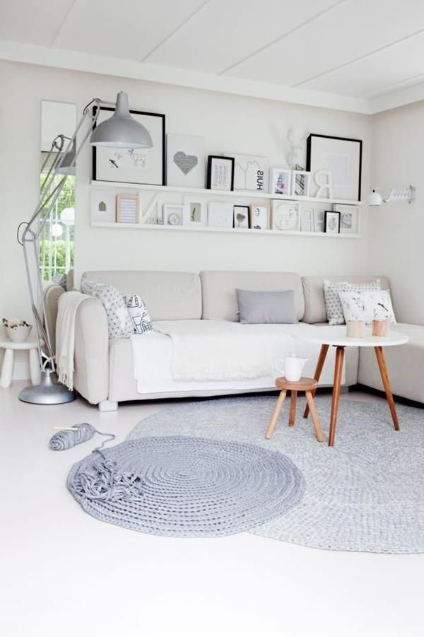Wandfarbe Weiß - stilvoll und immer modern! - Archzinenet - dekovorschlage wohnzimmer essbereich
