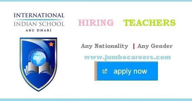 International Indian School Abu Dhabi Iis Teacher Job Vacancies