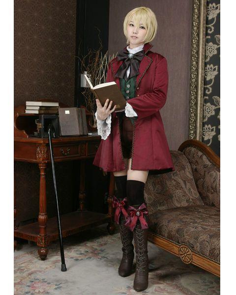 Photo of Black Butler Kuroshitsuji Alois Trancy Cosplay Costume Custom Made Any Size | eBay