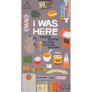 I Was Here : A Travel Journal for the Curious Minded - Walmart.com