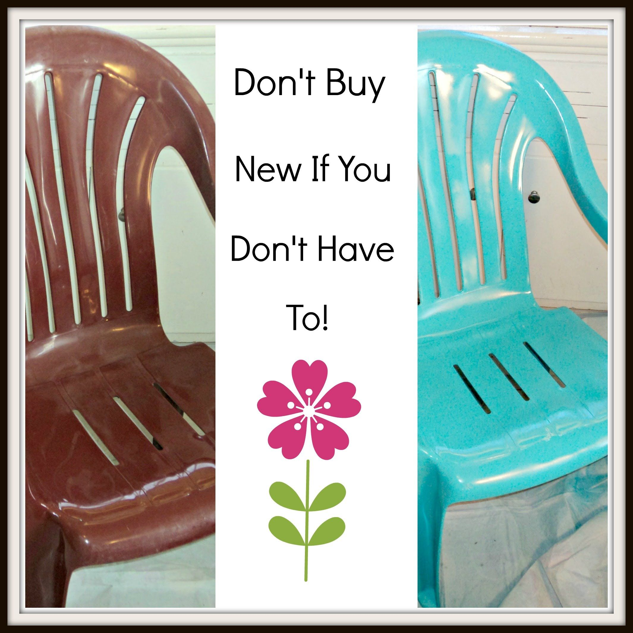 Inexpensive plastic outdoor chairs - How To Paint Cheap Plastic Lawn Chairs Homesteading Ways