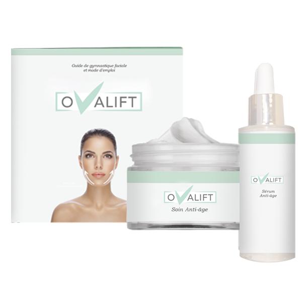Nouveauté : Le kit Ovalift qui permet de retrouver le fameux V du visage