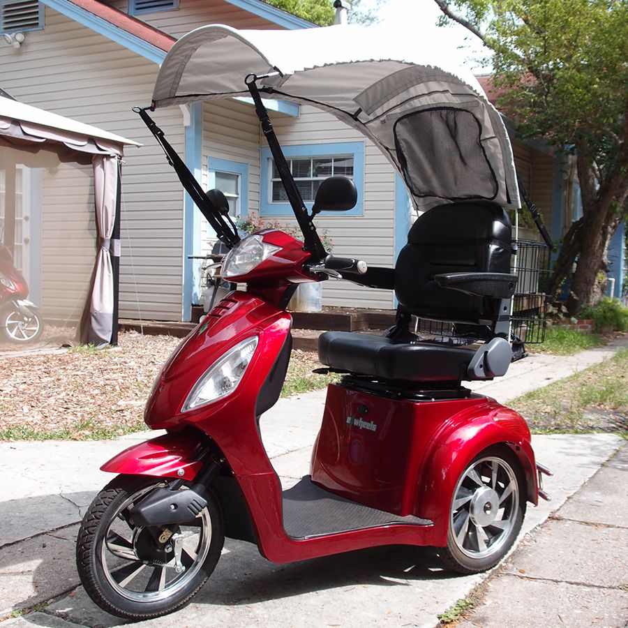 Ragtops Full Coverage Canopy Silver Mobility Scooter