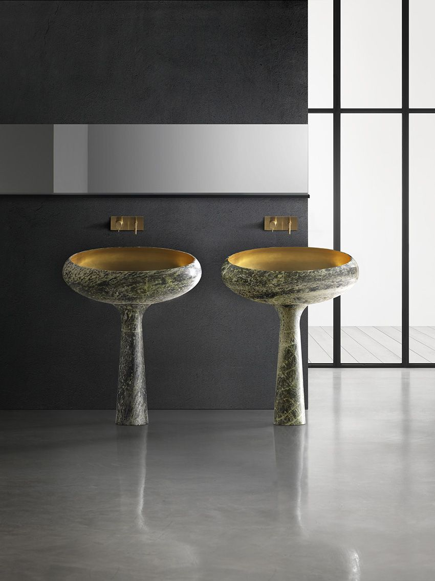 Gong Design By Enzo Berti Umyvalnik Fontany