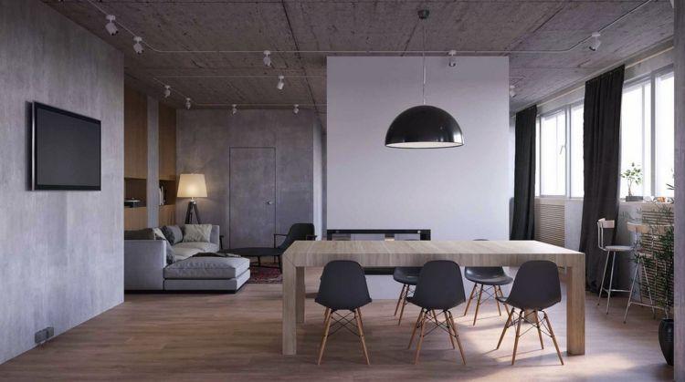 suelo de madera COMEDOR Pinterest Comedores modernos - comedores elegantes