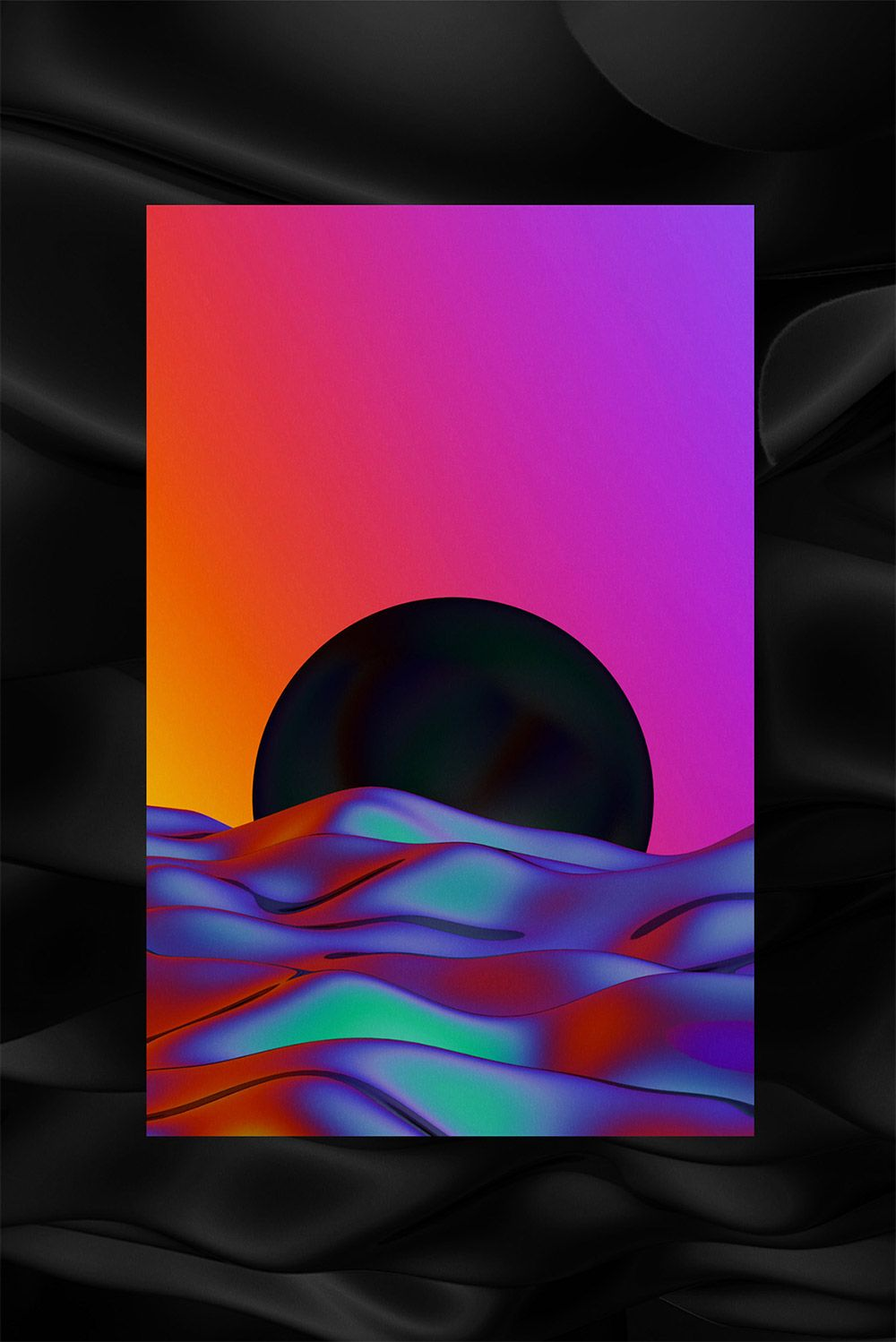 Psychedelic Artworks by Quentin Deronzier | Birthday Cards
