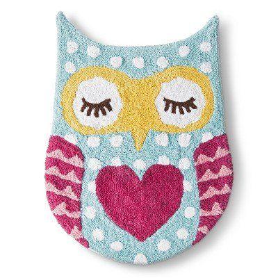 Circoâu201e¢ Floral Owl Forest Bath Rug (21X27