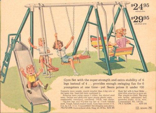 Swing Set My Childhood Memories