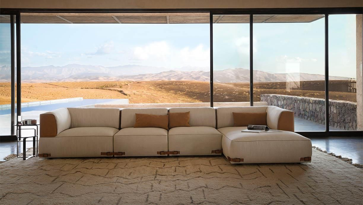 Made In Italy Leather Luxury Contemporary Furniture Set: Fendi Casa, The Fendi Furniture Collection, Design Made In