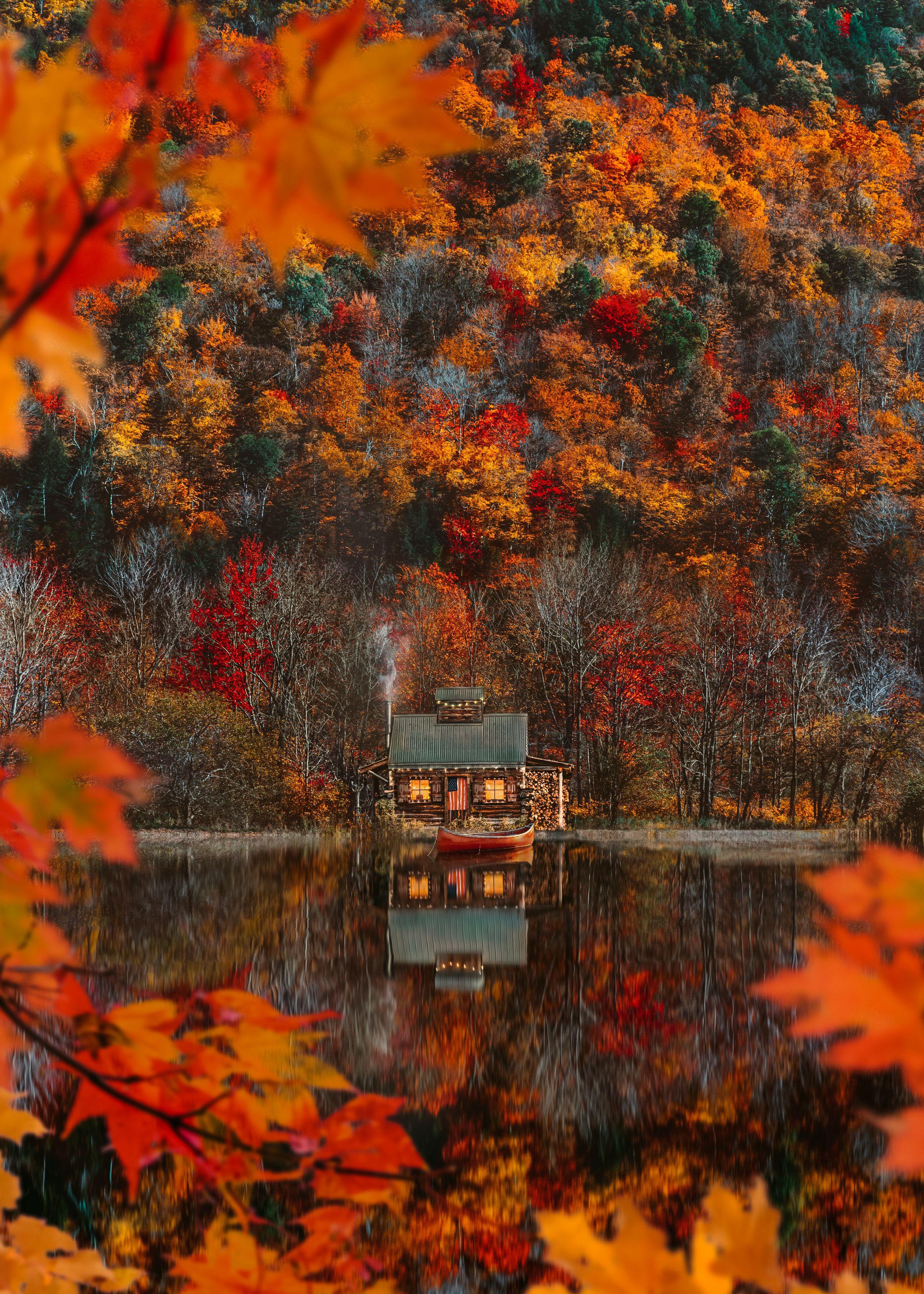 Cozy Mountain Weekend #autumnseason