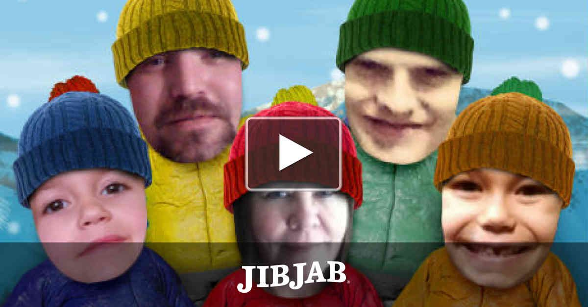 My JibJab Family Christmas Card. My grandkids especially loved it ...