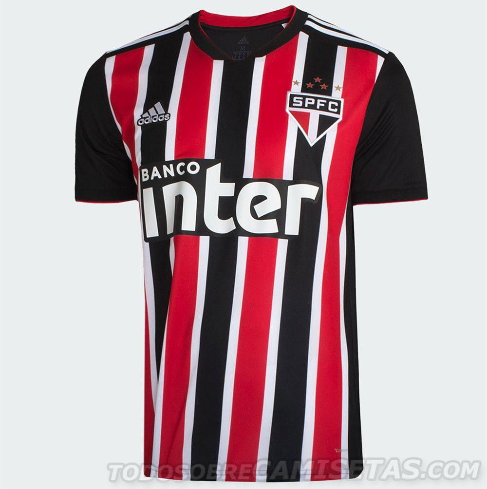 4a8f25803 Camisas adidas do Sao Paulo 2018-19