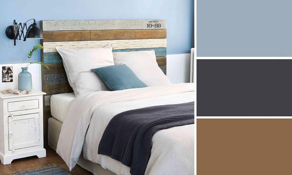 Déco : quelles couleurs s\'associent avec le bleu ? - M6 Deco.fr