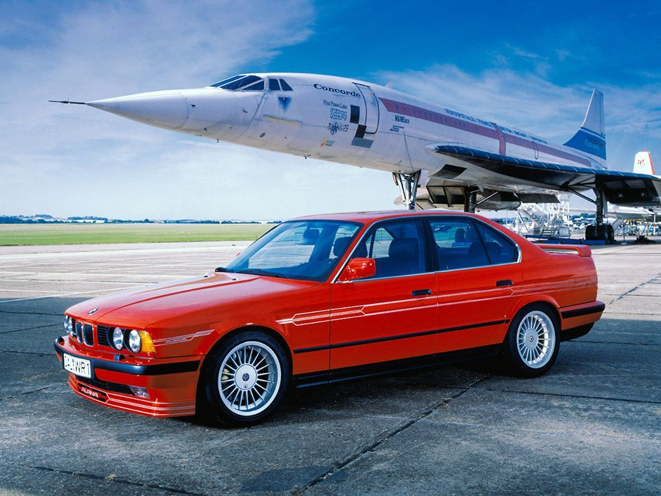 Bmw E34 Alpina With Concorde Prototype E34 Bmw Classic Bmw 1er