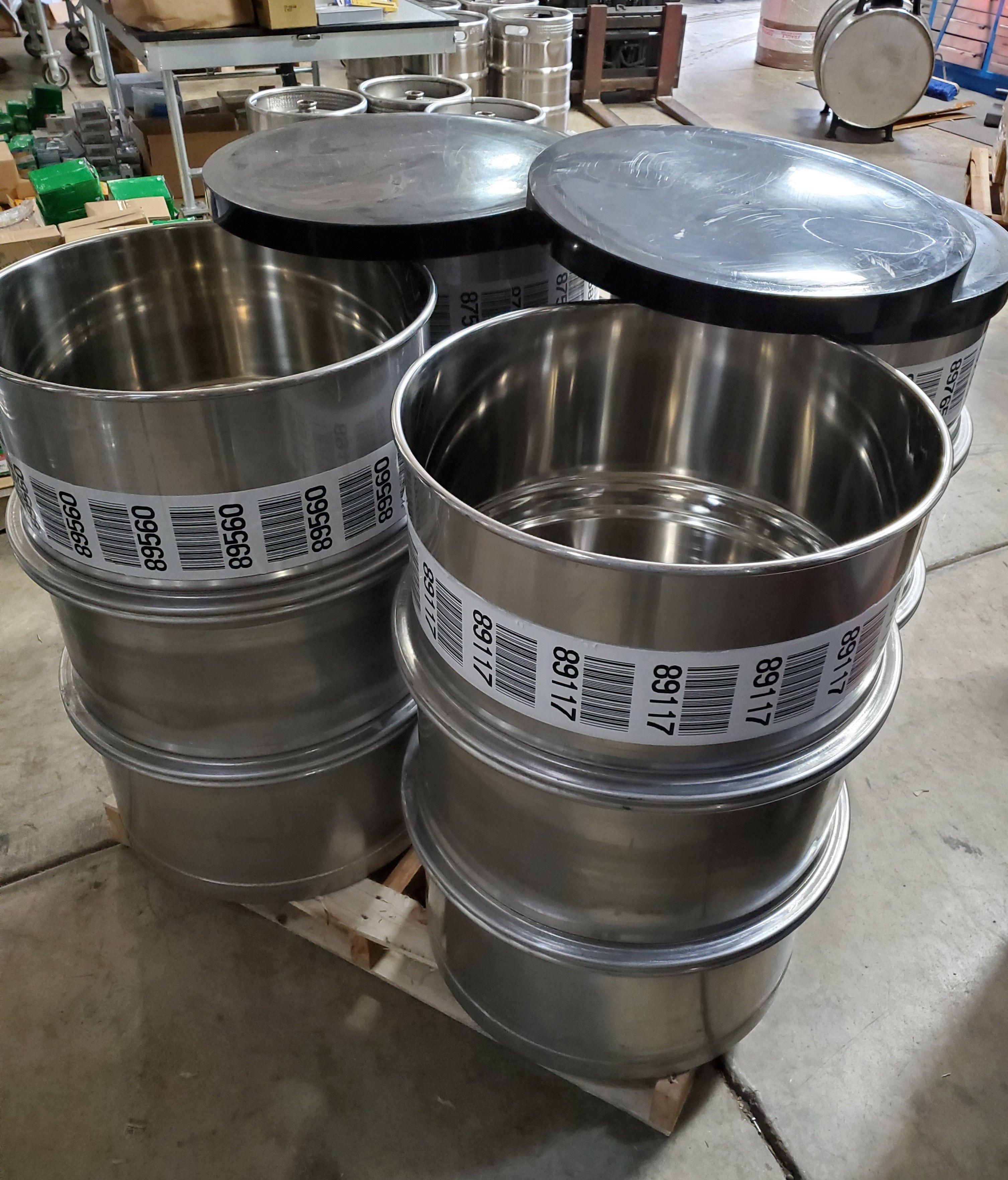 55 Gallon Used Stainless Steel Barrel Open Head In 2020 Stainless Steel Drum Stainless Steel Accessories Steel Barrel