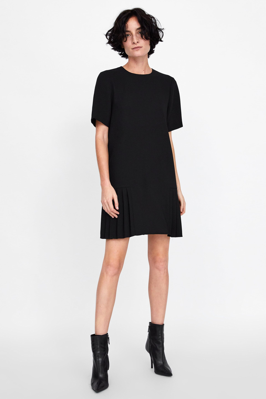 Image 1 Of Pleated Dress From Zara 2018 Dresses Zara Fashion Zara