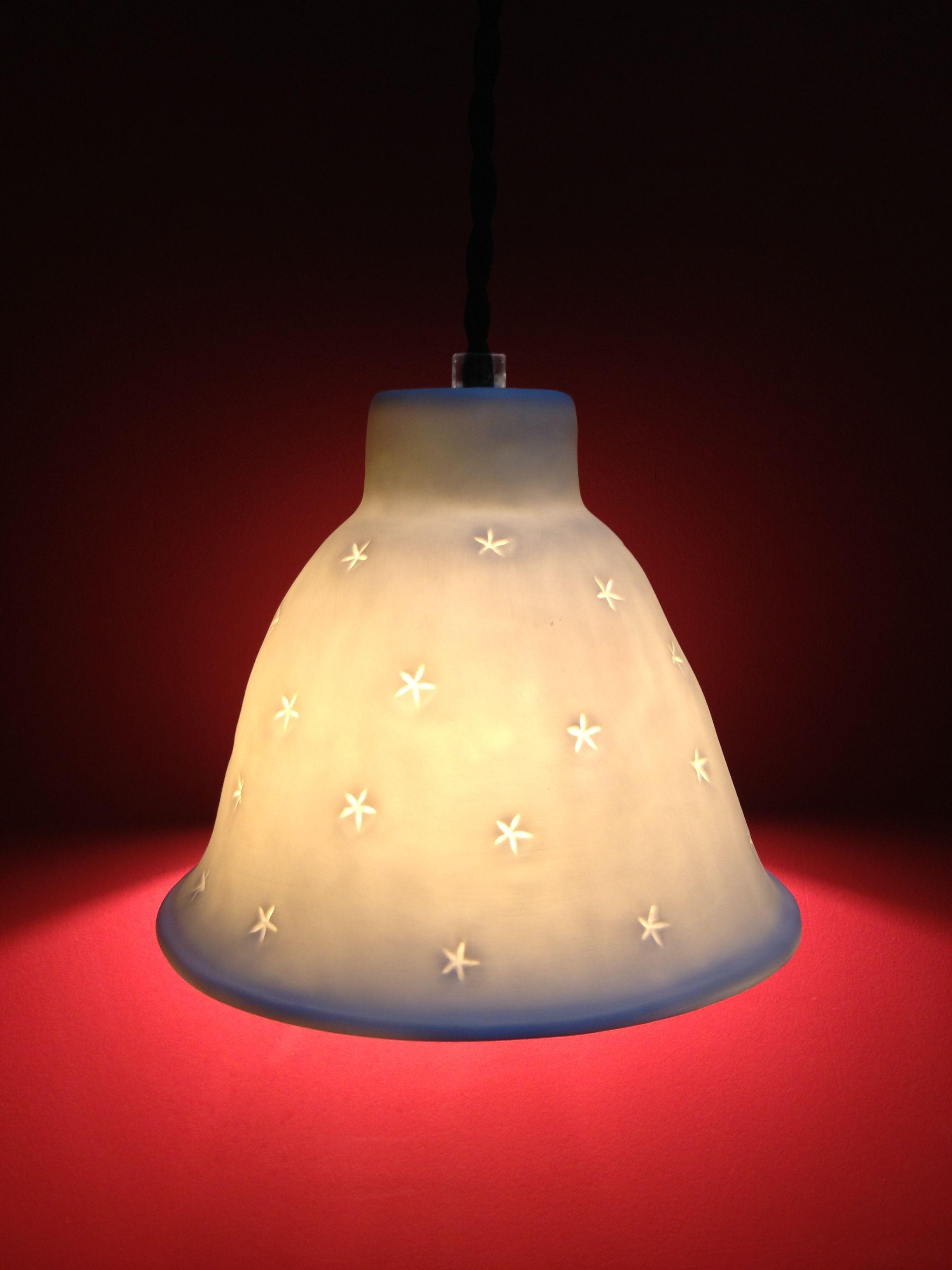 Suspension nuit étoilée en porcelaine de Limoges Alix D. Reynis ...