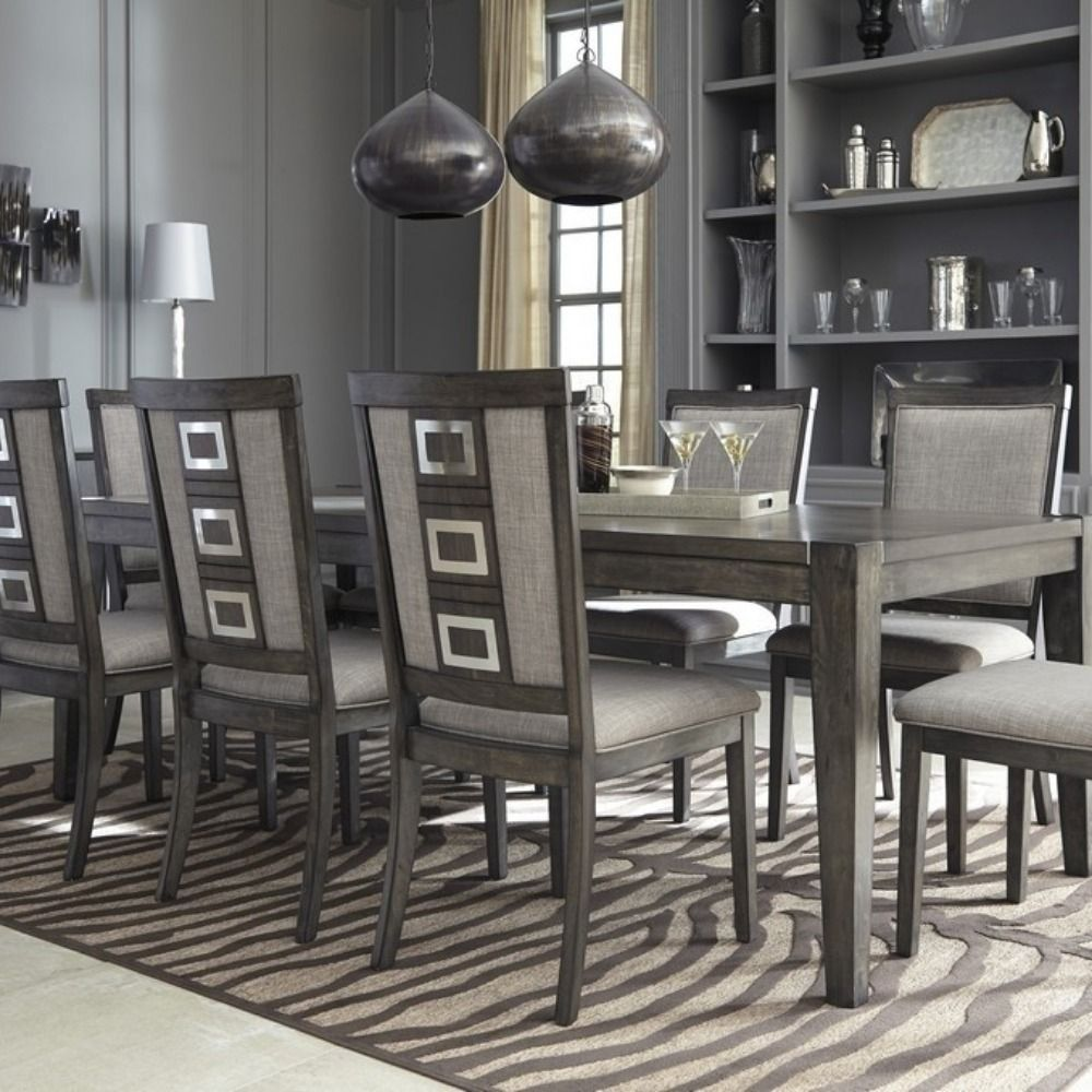 10 Pc Dining Table Set Dining Room Extension Table D624 35