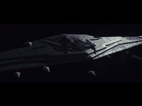 Spread the love - Compartir en Redes Sociales Star Wars: The Last Jedi Space Battles The Supremacy Destruction The Supremacy was 60 kilometers in wingspan and was the sole Mega-class Star Dreadnought in the First Order's service. Being the First Order's headquarters, the starship acted