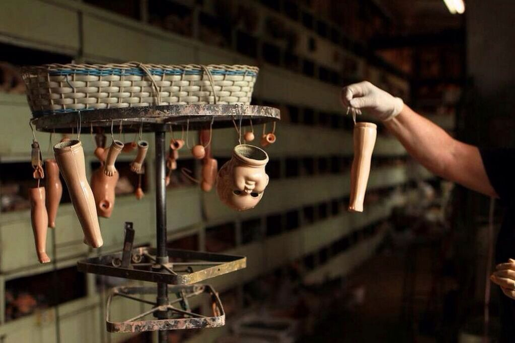 Amazing doll hospital in Bexley, Sydney. Operating since 1913. Photo c/o The Age