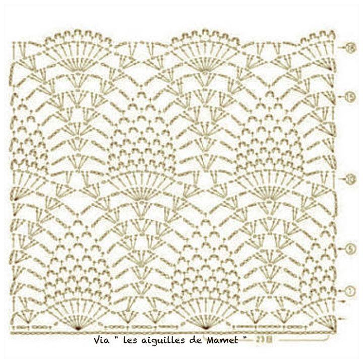 Pin de isabella Laria en Shawls, bufandas 2 | Pinterest | Ganchillo ...
