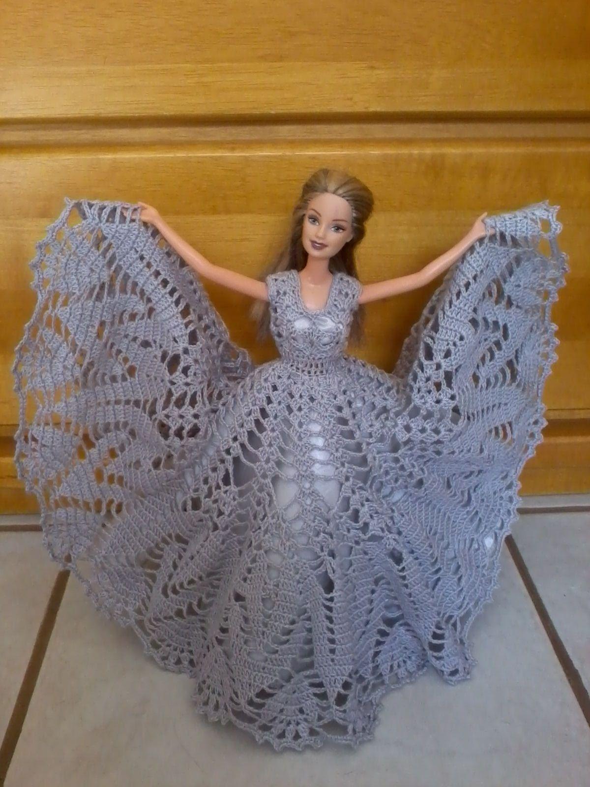 FEITO EM CROCHE   Its all about Barbie   Pinterest   Barbie kleider ...