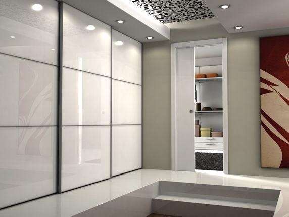 Unique - Eclisse, portes coulissantes et battantes Closet - guide porte coulissante placard