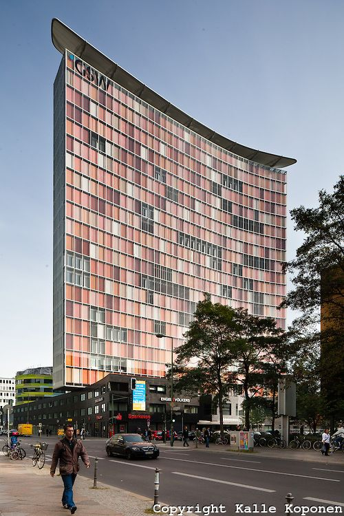 GSW-building in Berlin Sauerbruch Hutton