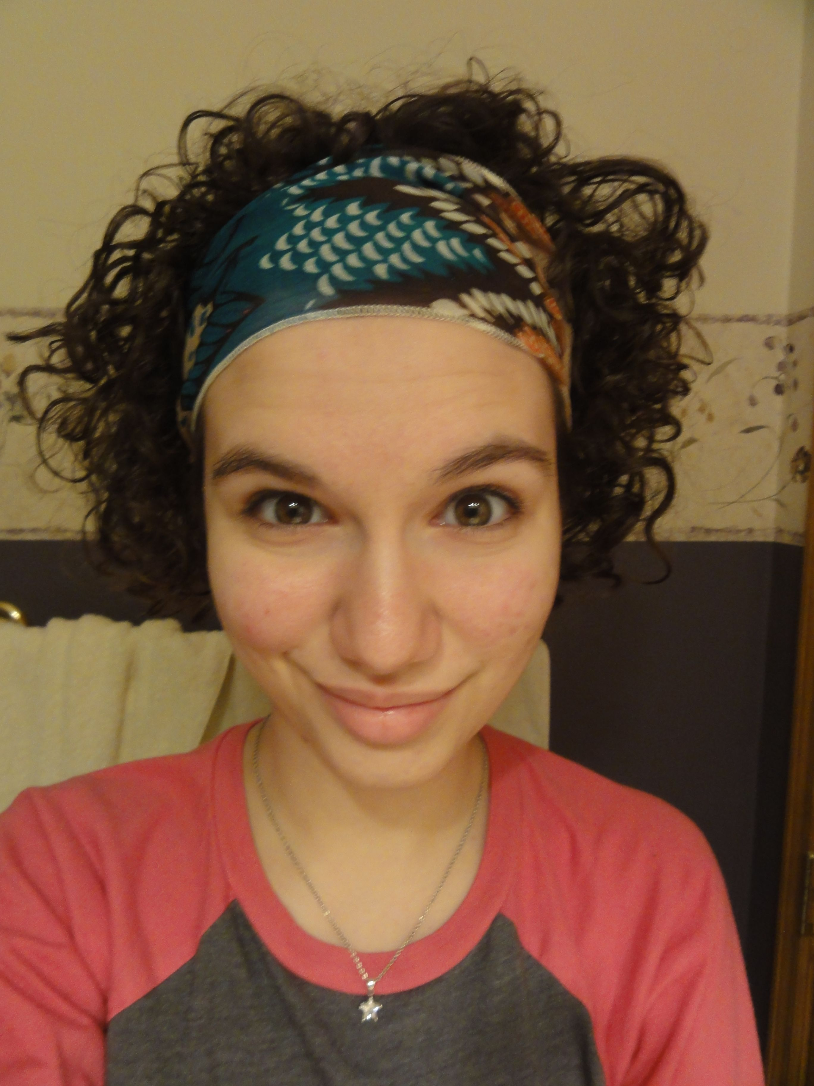 Love Your Curls Headbands For Short Hair Bandana Hairstyles Short Short Hair Styles Easy