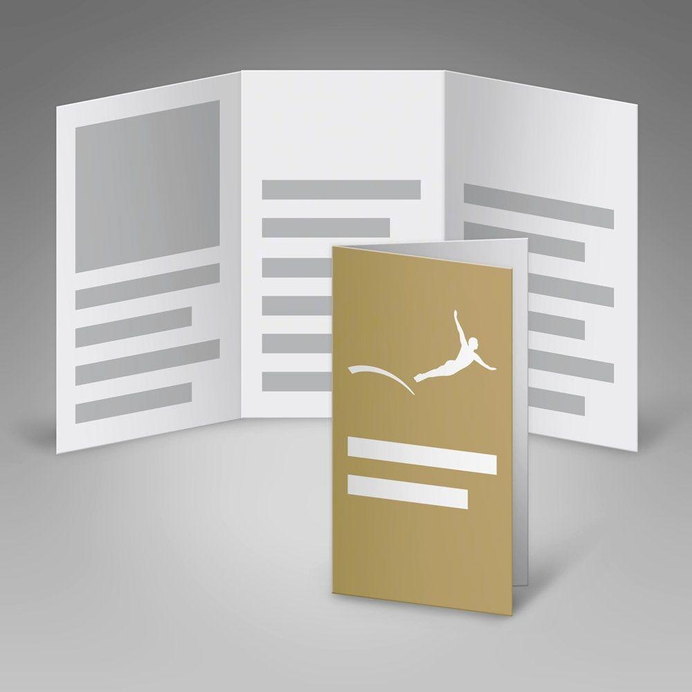 Faltblatt #Folder #DIN lang 6-Seiter 8-Seiter 10-Seiter #Wickelfalz #Altarfalz #Parallelfalz #Kreuzbruchfalz