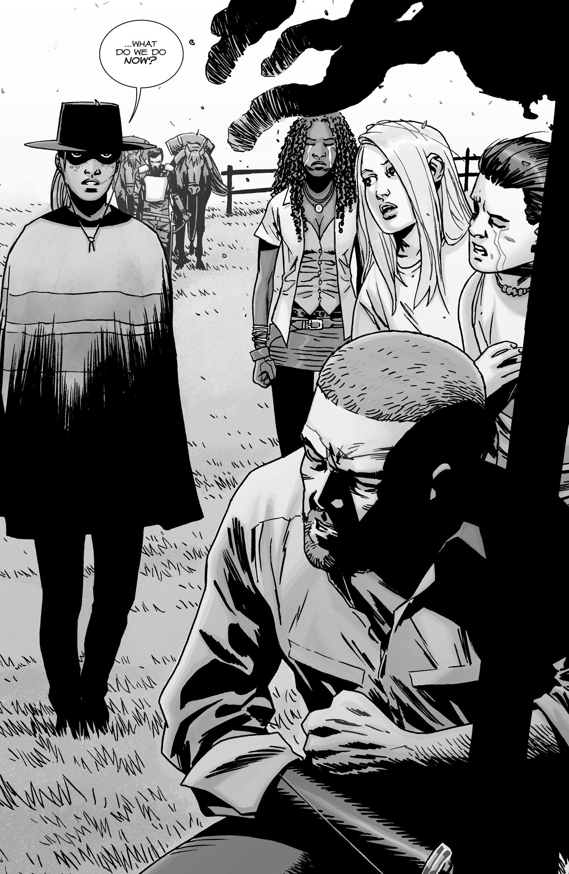 The Walking Dead Issue #144 - Read The Walking Dead Issue