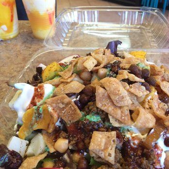 Mood Cafe Beef Salad Chaat Cafe