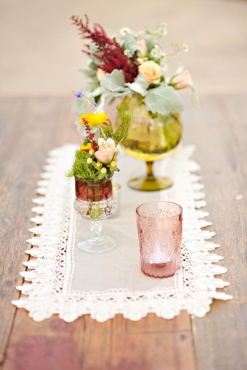 Wedding Stuff Assorted Vintage Glass Vases