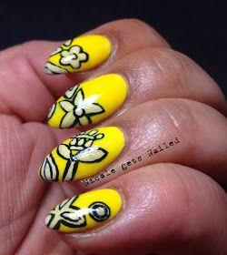 Nicole nails Oscar de la Renta nails.  Wow.  Check it out?  Nicole gets Nailed: O is for Oscar de la Renta Inspired