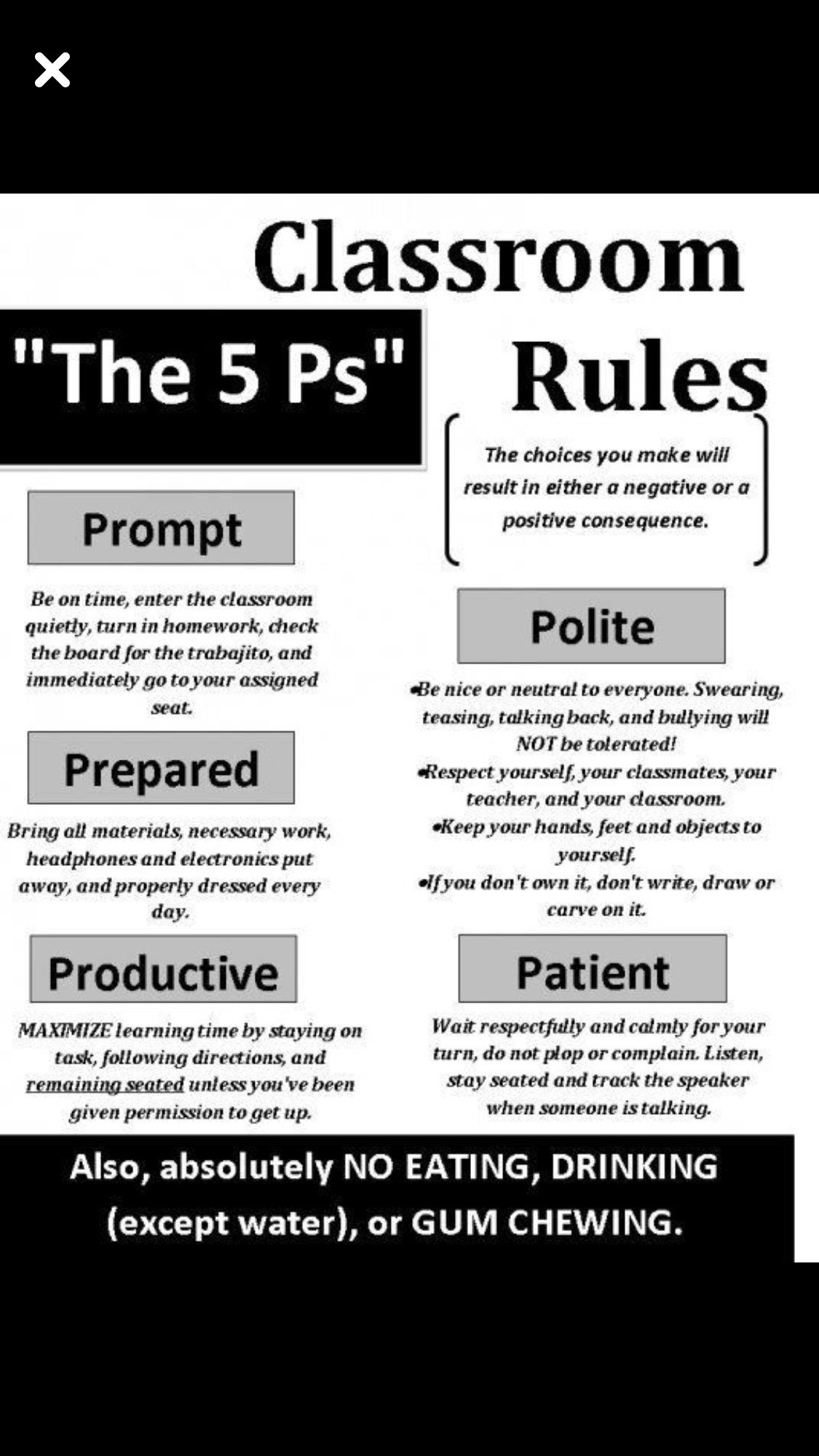 Pin By Nancy Terry On Classroom Management Classroom Rules