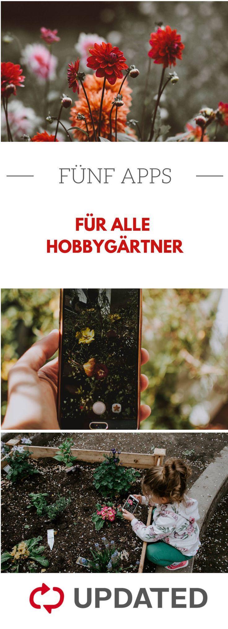 Apps für Hobbygärtner - Garten Pflanzen Ideen #blumenfürgarten