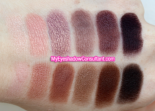 Laura Mercier 2013 Artist Palette (Top Row, L to R