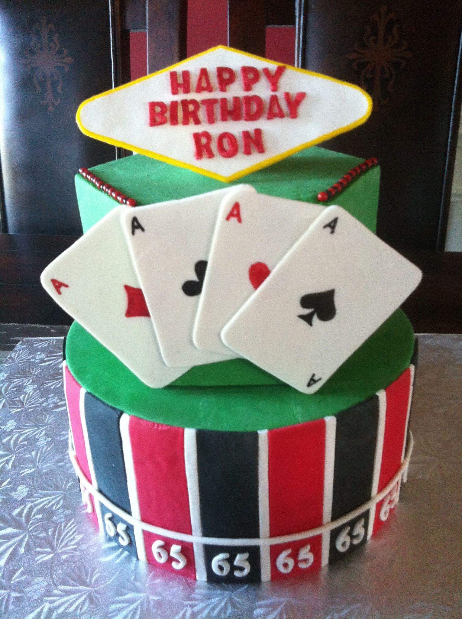 Birthday Cakes Pastry Palace Las Vegas Cake 1214 Blackjack