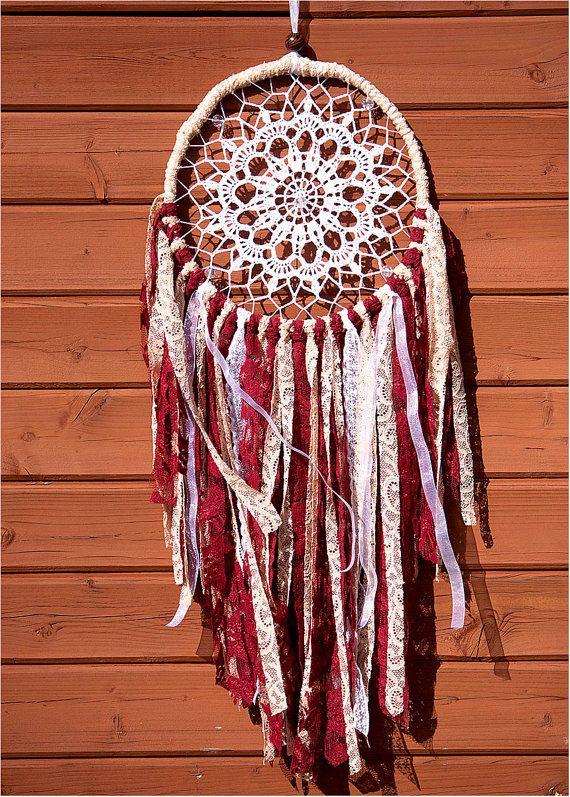 Dreamcatcher, Doily Dream Catcher, Crochet Doily ...