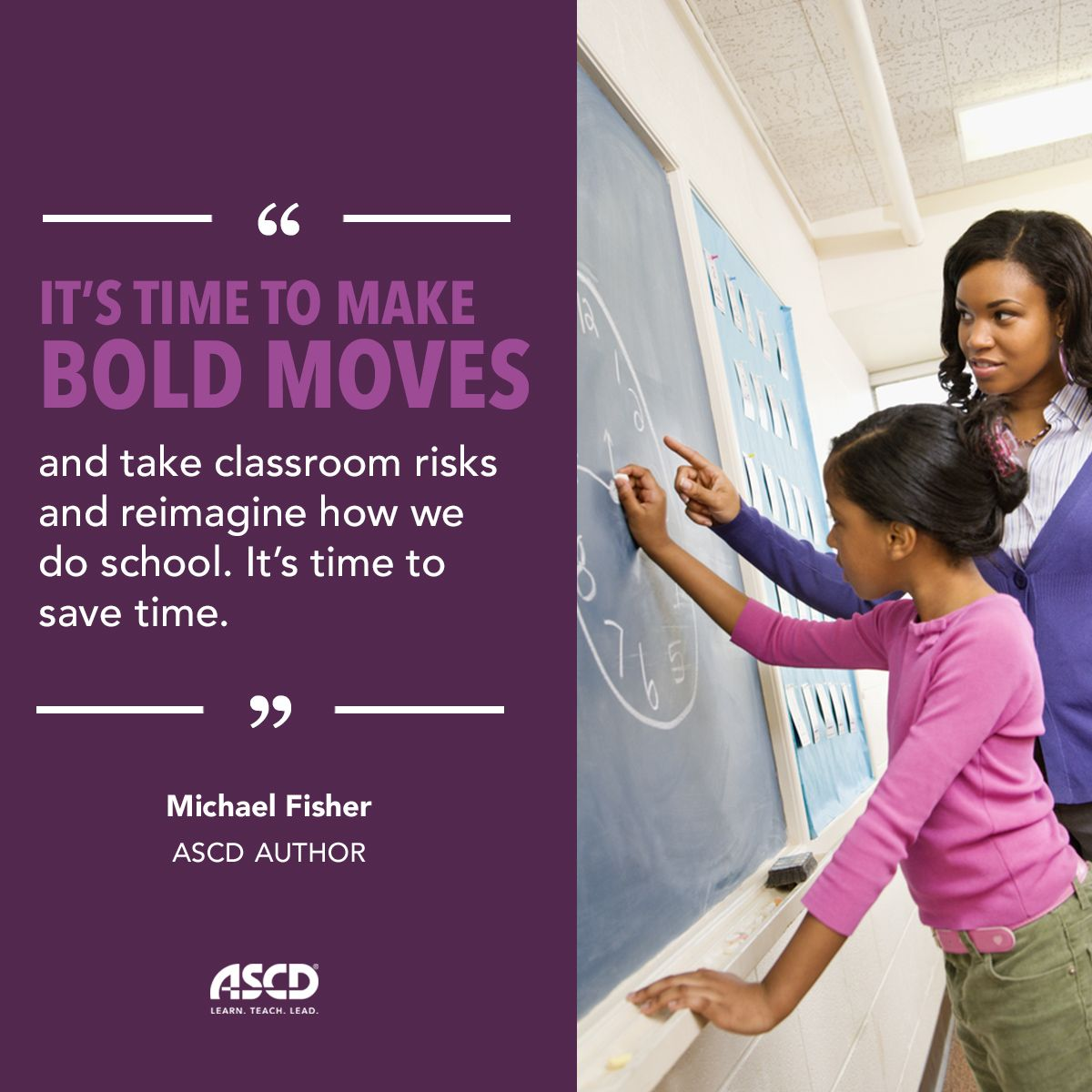 Michael Fisher shares strategies that teachers can use to craft student-centered learning experiences in his book,  Ditch the Daily Lesson Plan.