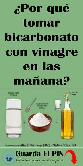 Por Que Tomar Bicarbonato Con Vinagre En Las Manana Bicarbonato