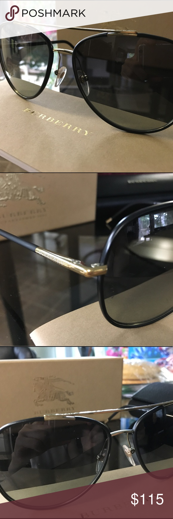 3a574f641e8 Spotted while shopping on Poshmark  🌟Burberry🌟 Brand New Sun Glasses!!!   poshmark  fashion  shopping  style  Burberry  Accessories